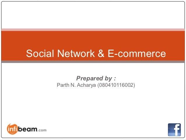 Social media and e commerce