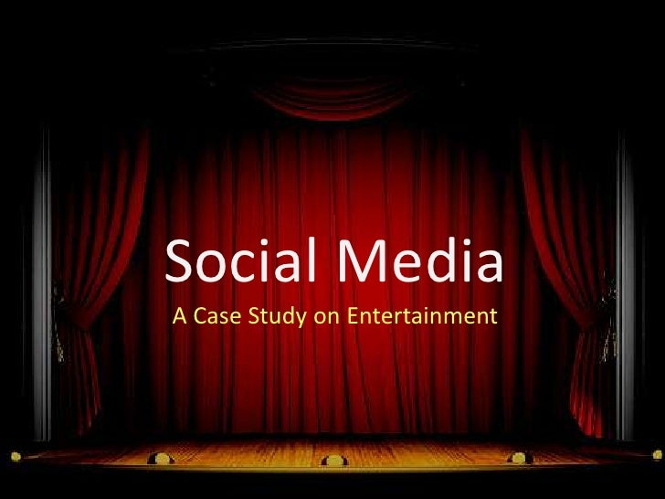 Social Media in Entertainment Sector in India