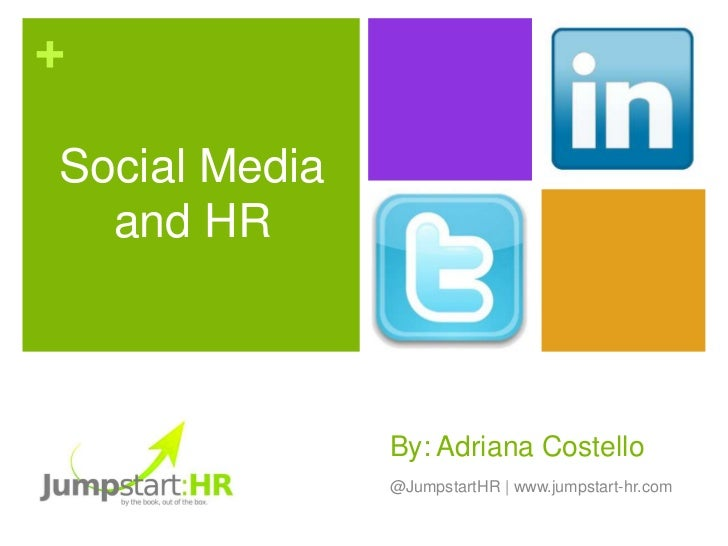 Best Practices in Social Media Human Resources Policy