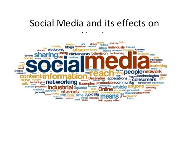 the effects of social media on the youths tobacco use Social media is constantly running in the background of life we can share, snap, tweet, like and reblog at all hours of the day according to a british psychological society, approximately 90 percent of teenagers are on social media.