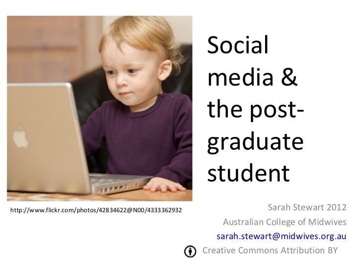 Social media and post graduate education