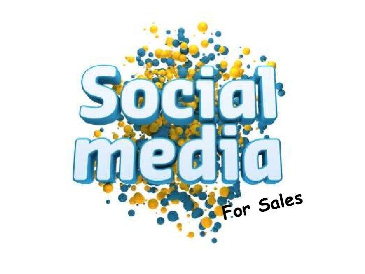 Using social media for selling
