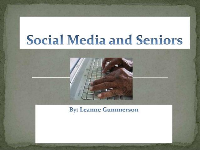 Social Media and Seniors Assignment