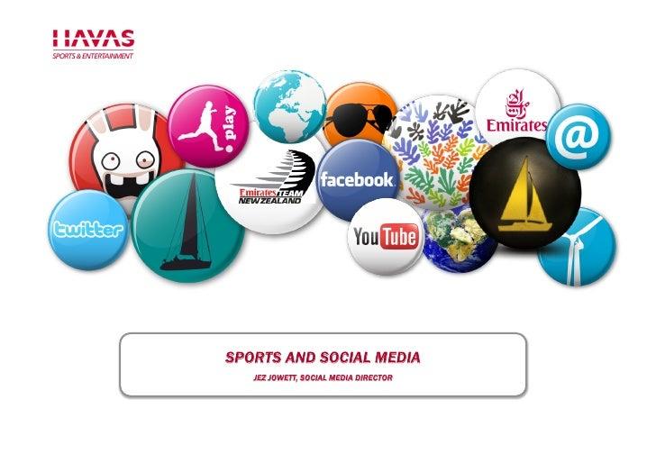 Social media and sports 2010