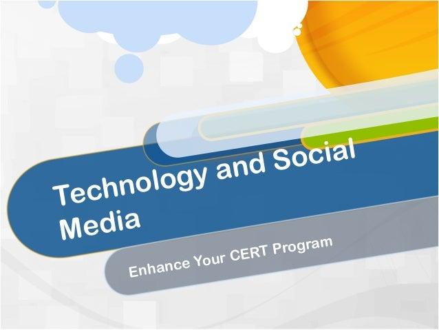 n d So cial     nology aTechM edia                        m                     T Progra              our CER     Enhance Y
