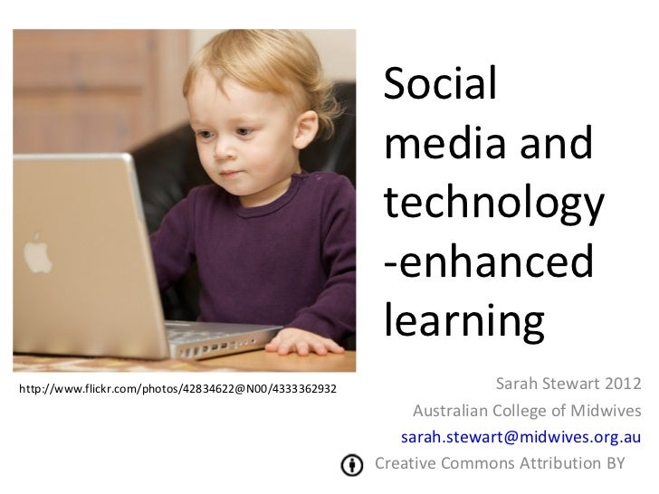 Social media and technology-enhanced learning