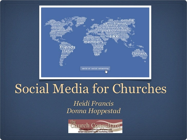 Social Media for Churches          Heidi Francis        Donna Hoppestad
