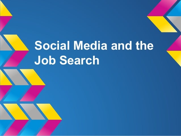 Social Media and the Job Search