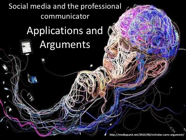 Social media and the professional         communicator     Applications and       Arguments                             ht...
