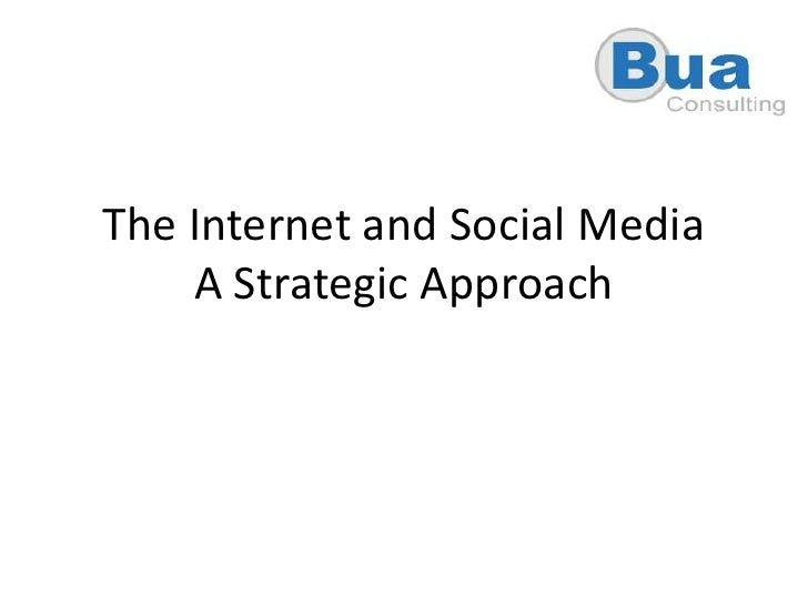 A Strategic Approach To Social Media For Your Business