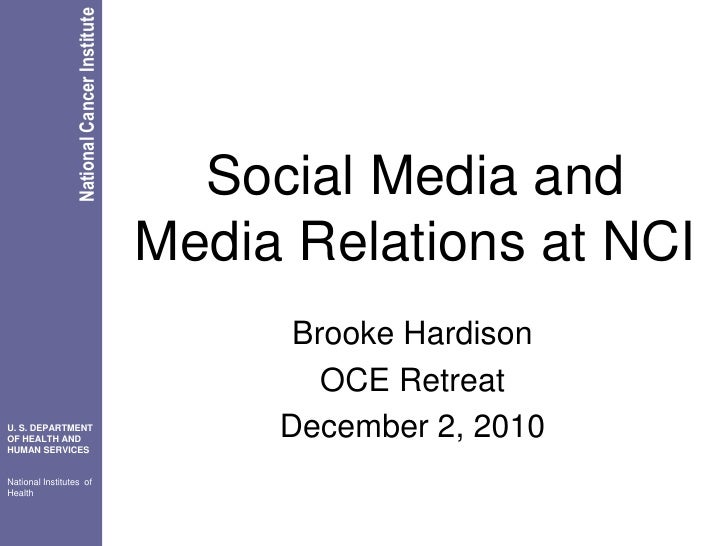 Social media at omr oce