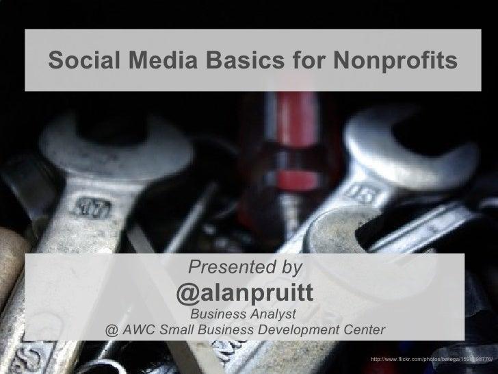Social media basic for nonprofits