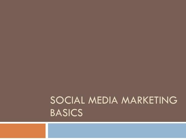 Social media basics workshop