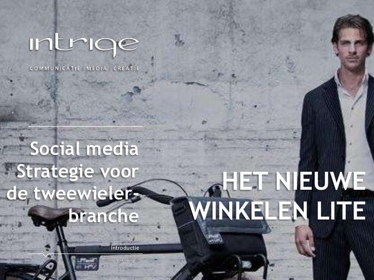 Social media Strategie voorde tweewieler-                           HET NIEUWE       branche           WINKELEN LITE      ...