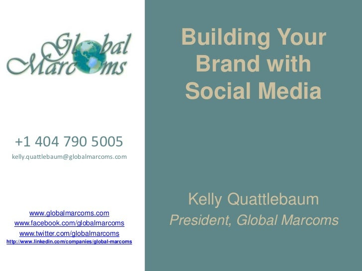 Building Your                                                     Brand with                                              ...