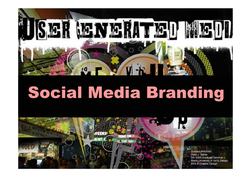 Social Media Branding - Maurizio Goetz
