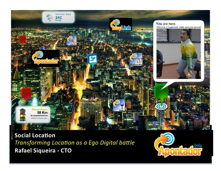 Social	   Loca)on	    Transforming	   Loca.on	   as	   a	   Ego	   Digital	   ba4le	    Rafael	   Siqueira	   -­‐	   CTO	 ...