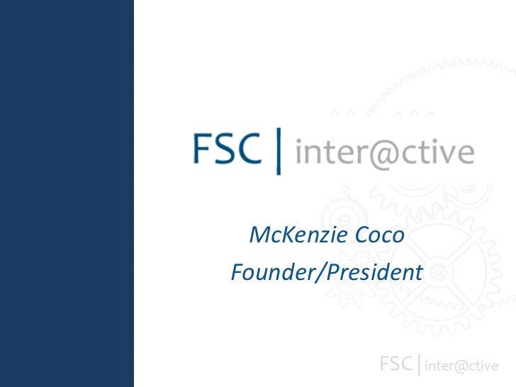 McKenzie Coco Founder/President