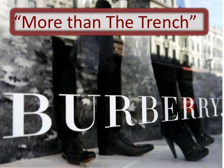 Social media burberry presentation