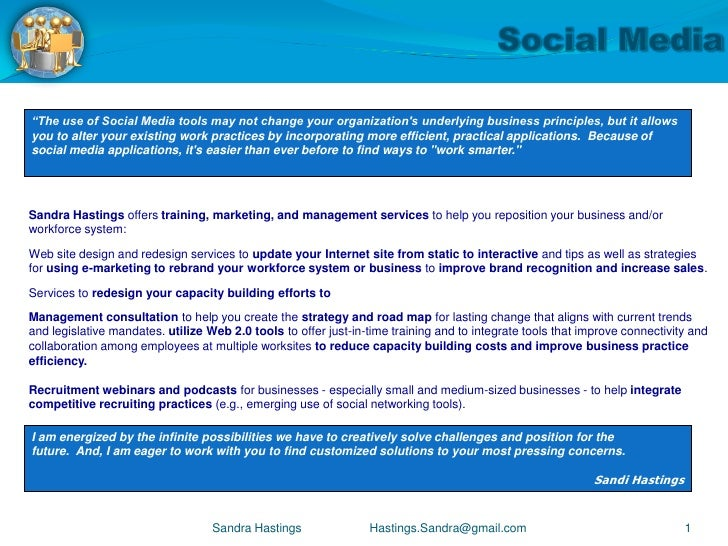 Social Media for Business Customers