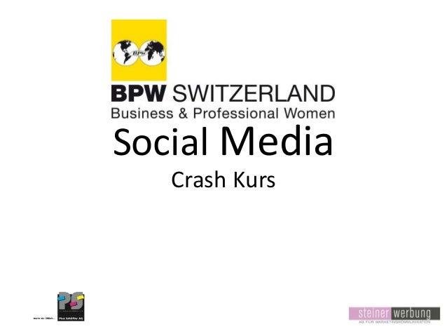 Social Media Crash Kurs