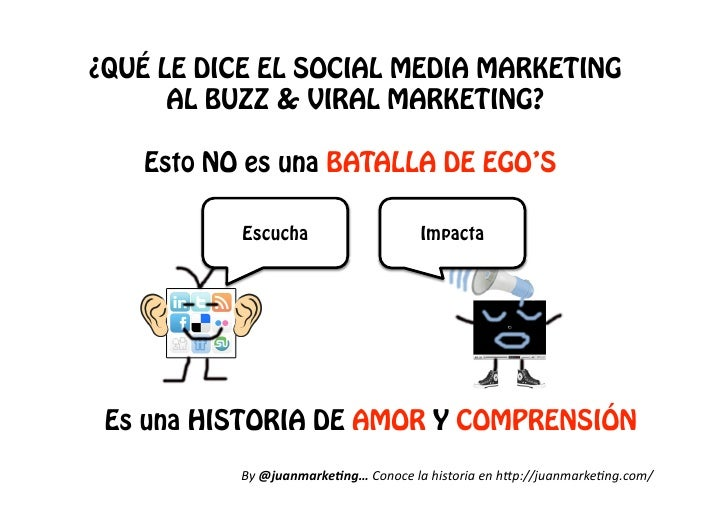 ¿QUÉ LE DICE EL SOCIAL MEDIA MARKETING       AL BUZZ & VIRAL MARKETING?     Esto NO es una BATALLA DE EGO'S            Esc...