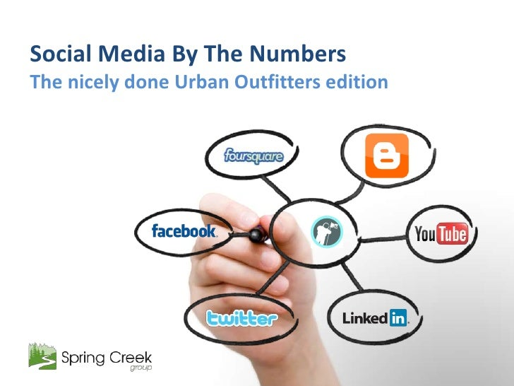 Social Media By The Numbers<br />The nicely done Urban Outfitters edition<br />