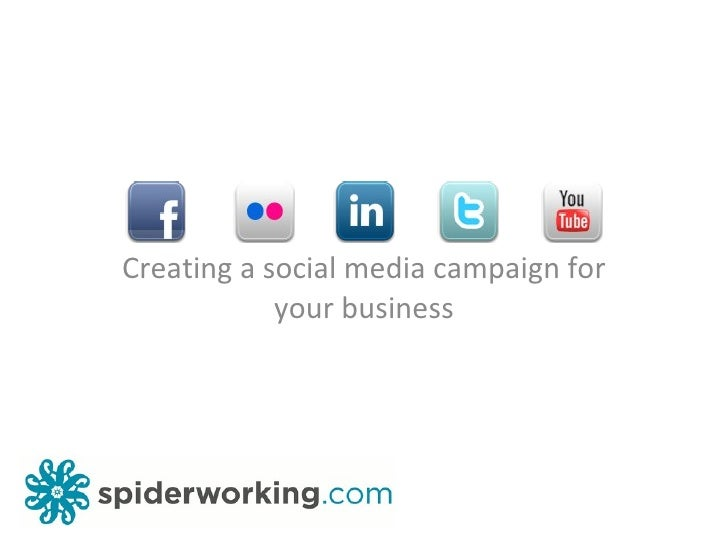 Creating a social media campaign for your business