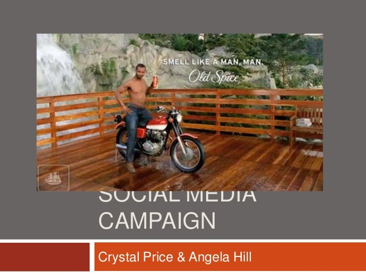 Social media campaign<br />Crystal Price & Angela Hill<br />