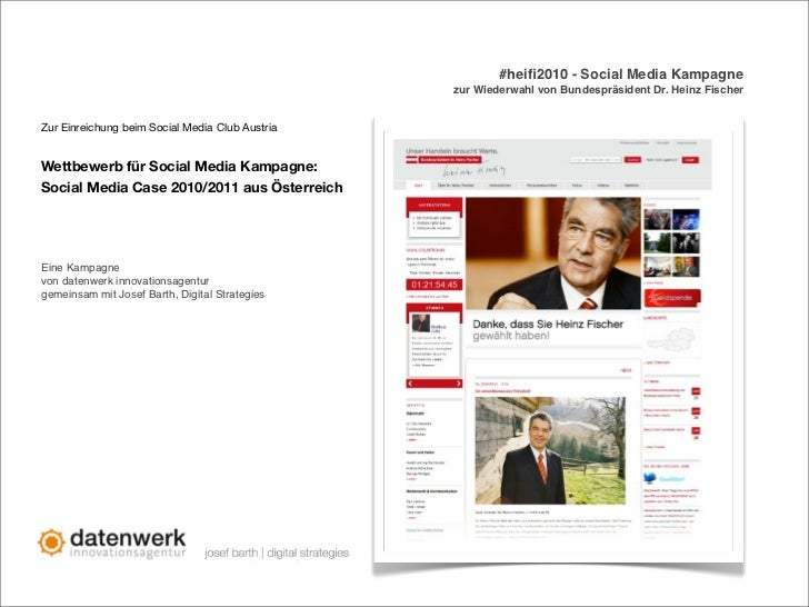 #heifi2010 - Social Media Kampagne                                                 zur Wiederwahl von Bundespräsident Dr. H...