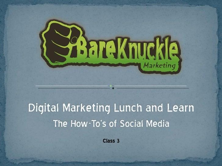 Centennial Barn Social Media Class - Week 3