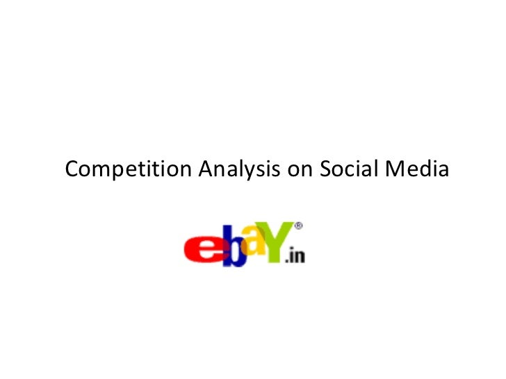 Social media competition analysis