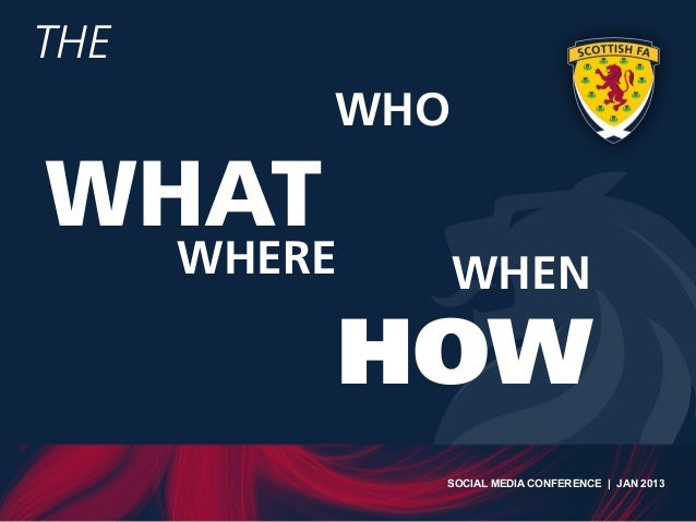 Scottish FA Digital Media Strategy