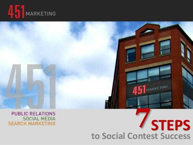 to Social Contest Success STEPS