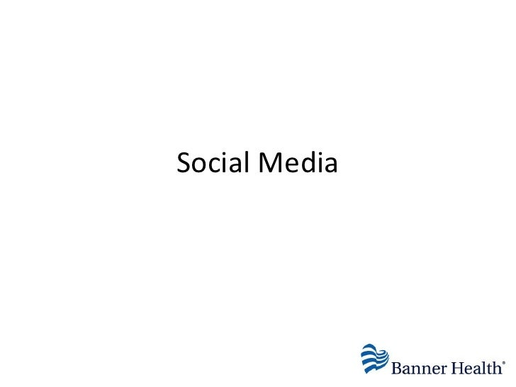 Social Media orWeb 2.0<br />