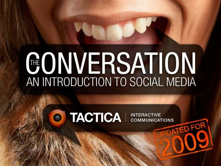 The Conversation - An Introduction to Social Media