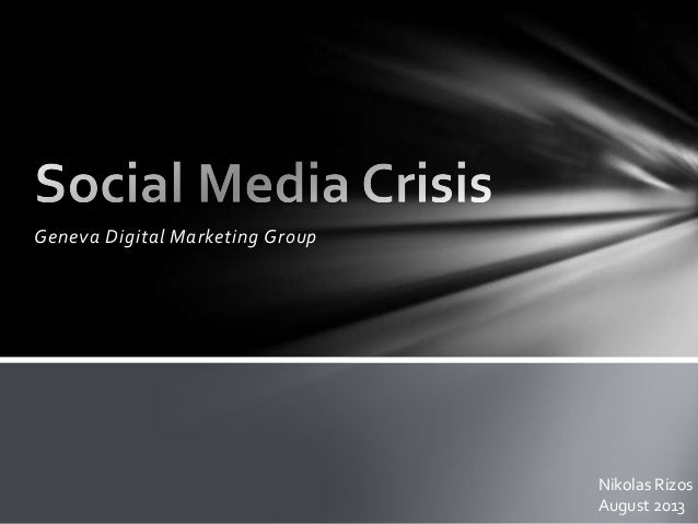 Social media crisis: how to manage effectively