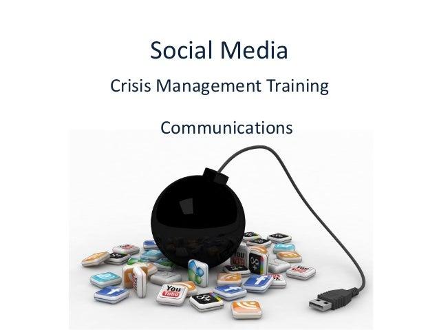 Social media crisis management training: Communications