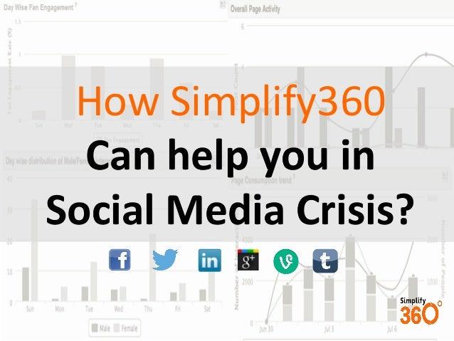 Social media crisis management -  Simplify360