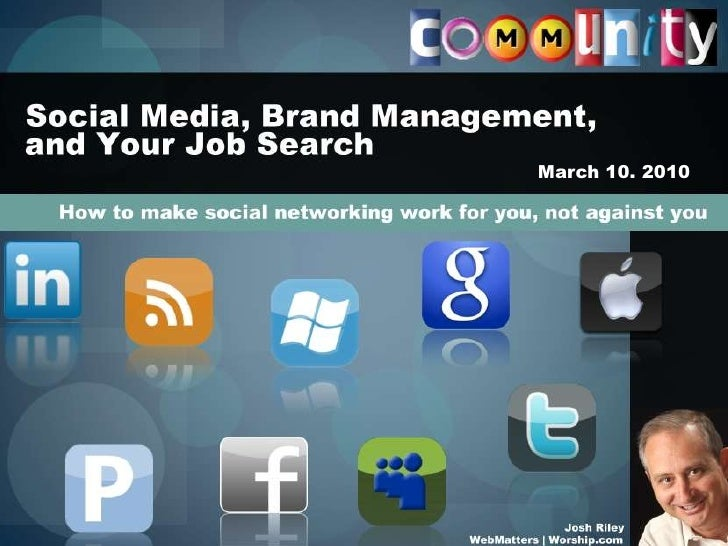 How Social Media has impacted networking, and what you can do to stand out (in a positive way!)<br />Social Media, brand m...