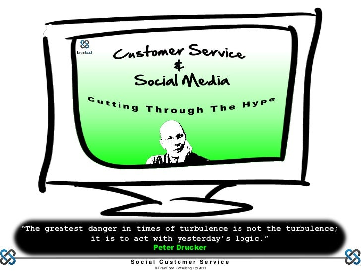 Social media & customer service cutting through the hype