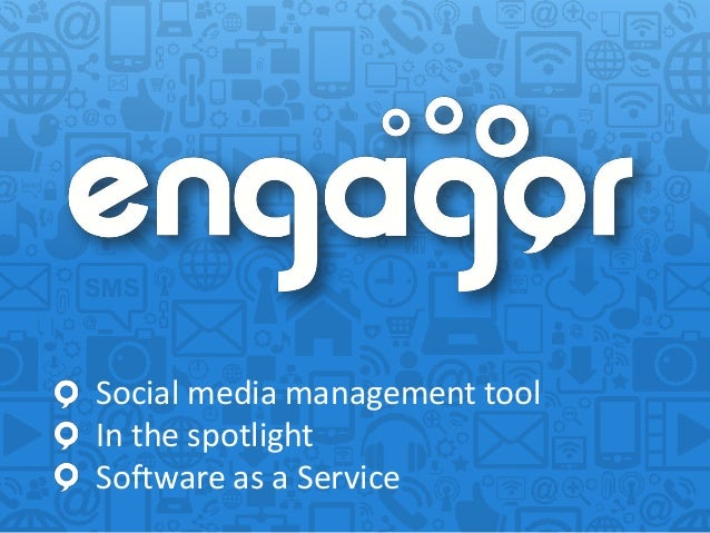 Social media management toolIn the spotlightSoftware as a Service