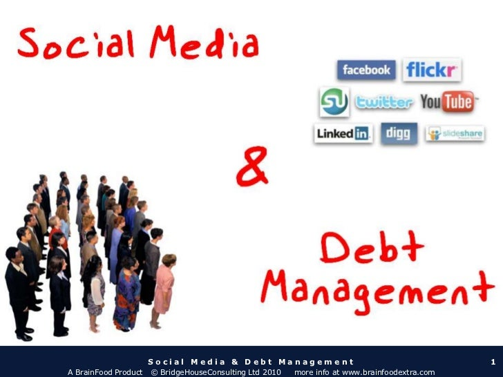 Social Media & Debt Management