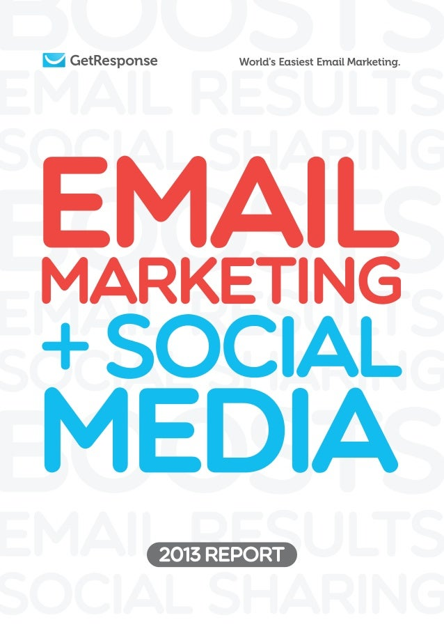 Social media and Email - 2013 release