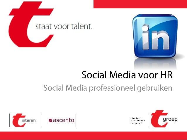 Social Media Social media & HR Online branding LinkedIn