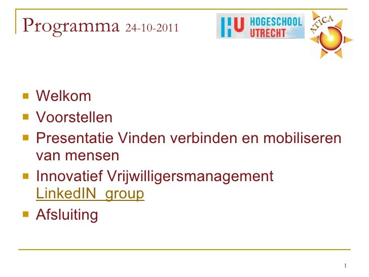 Social media en vrijwilligersmanagement