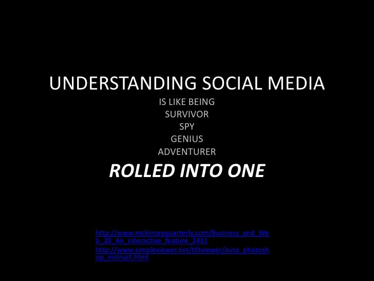 University of Washington MCDM New Media Presentation