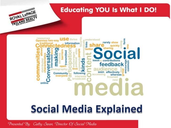 Social Media Explained<br />