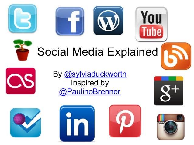 Redes sociais em poucas palavras
