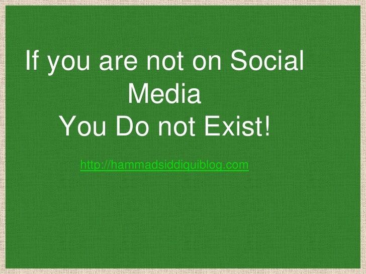 2012 Social Media Facts | Hammad Siddiqui